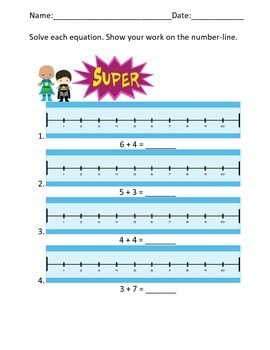 Addition on a Number-line