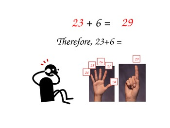 Addition one digit to two digit and putting the big number in your head