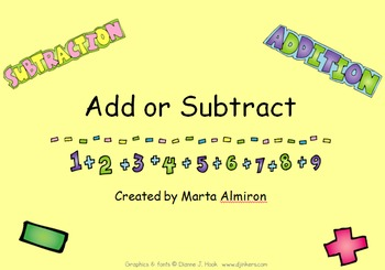Addition or Subtraction?