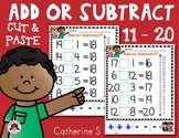 Addition and Subtraction to 20 Worksheets