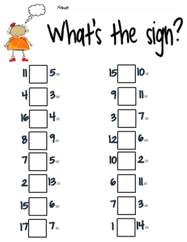 Addition or Subtraction Sign??