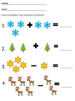 Addition/Subtraction within 5