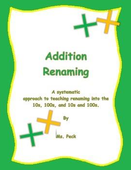 Addition regrouping
