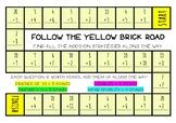 Addition strategies board games.