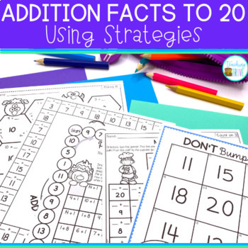 Addition strategies for fact fluency