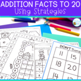 Addition Strategies for Number Fact Fluency
