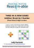 Addition strategy - Break Up 1 number (2-digit place value