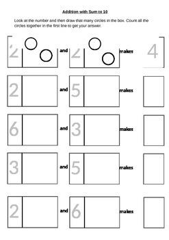 Addition through number correspondence