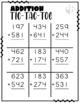 Addition Tic Tac Toe Games