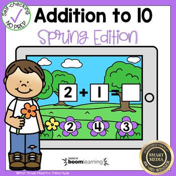 Addition to 10 Boom Cards℠