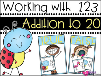 Addition to 20 {A Working With Numbers Center}