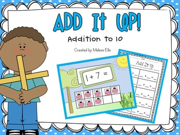Addition to 10:  Add It Up! Spring Edition