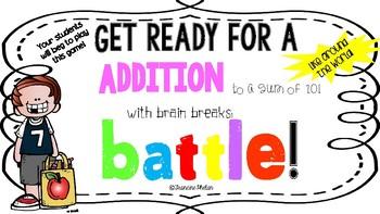 Addition to 10 Around the World Battle!