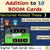 Addition to 10 BOOM Cards™ Digital Task Cards Distance Learning