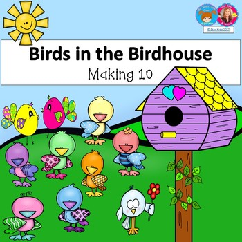 Addition to 10 Birds in the Birdshouse for K-1