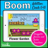 Addition Boom Cards | Math Game |  Kindergarten and First Grade