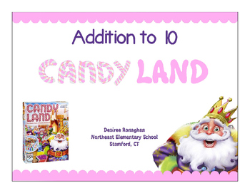 Addition to 10 Candy Land