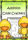 Addition to 10 - Code cracker / Riddles / Math Jokes (Freebie)