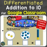 Addition to 10 Distance Learning for Google Classroom / Sl