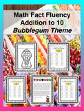Math Fact Addition Fluency to 10