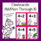 Addition to 10 Flashcards - (Llama Theme)