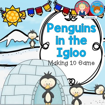 Addition to 10 Game Making Ten Penguins for K-1