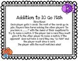 Addition to 10 Go Fish