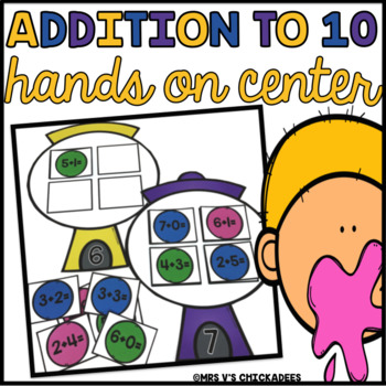 Addition to 10 Hands on Math Center