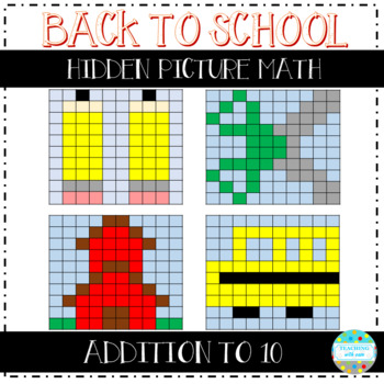 Addition to 10 Hidden Pictures: Back to School