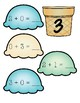 Addition to 10- Ice Cream Number Sentences