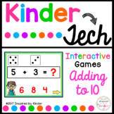 Addition to 10 {Interactive Game}