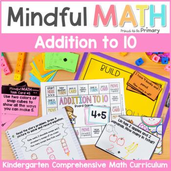 Addition to 10 Kindergarten