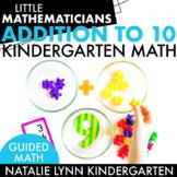 Addition Unit: Kindergarten Guided Math