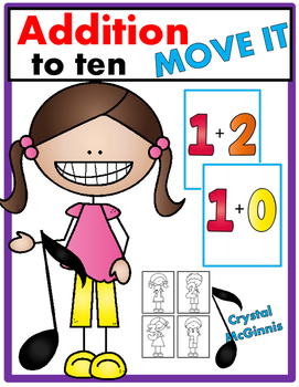 Addition to 10 JUST MOVE! (A Get Up and Move Around the Classroom Game)