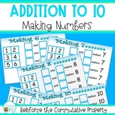 Addition to 10 - Making Numbers
