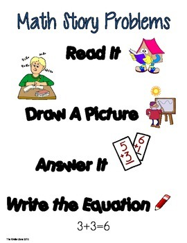 Addition to 10 Math Word Problems ** Set 2 ** Read,Draw,Answer It!