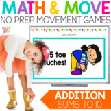 Addition to 10 Movement Game for Google(TM) and PowerPoint