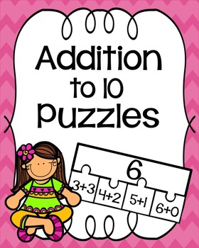 Addition to 10 Puzzles