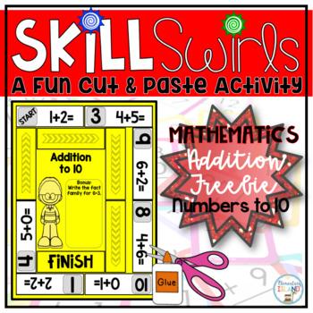 Addition to 10 Skill Swirls FREEBIE