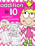 Addition to 10 Sprints {Printables and Assessments}