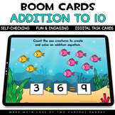 Addition to 10 for Boom Cards™