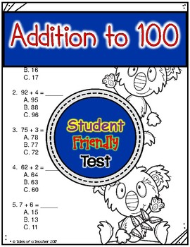 Addition to 100 Test