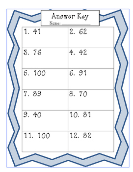 Addition to 100 task cards with regrouping
