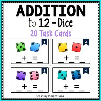 Addition to 12 - Dice