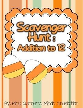 Addition to 12 Scavenger Hunt