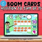 Addition to 15 Boom Cards / Distance Learning