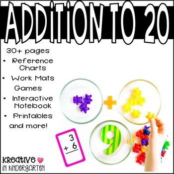 Addition to 20- 1st Grade