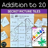 Addition to 20 Back to School Secret Picture Tile Printables