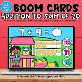 Addition to 20 Boom Cards / Distance Learning