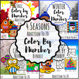 Addition to 20 Color by Number 4 Seasons Bundle